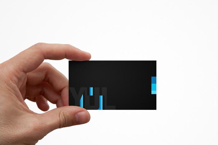 Yul branding 2015 valerie ngo portfolio 1 business card 3 x 25 in reheart Gallery