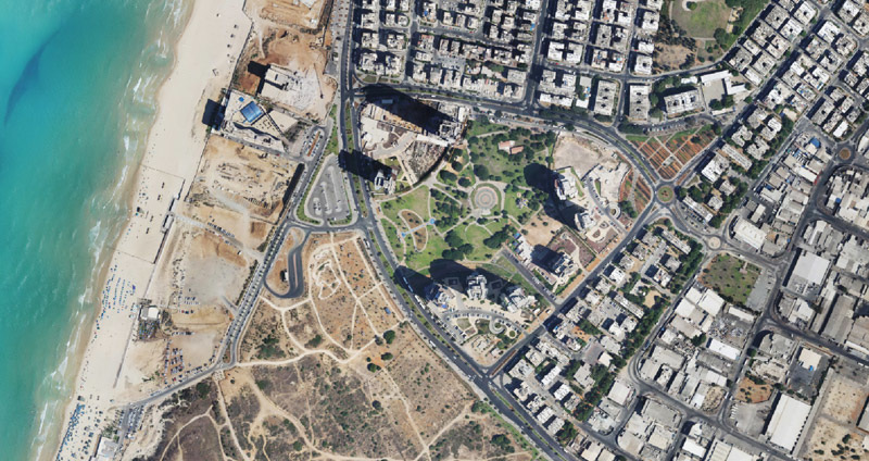Bat Yam Park Begin Mayer Architects