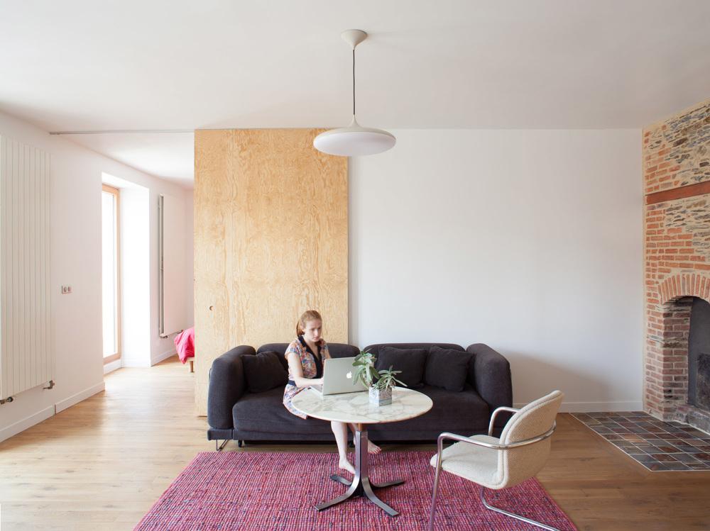 Appartement grande biesse fran ois dantart architecte le for Maison de l emploi nantes