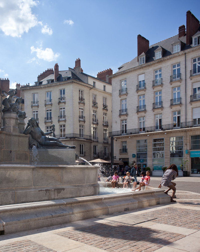 Place royale agence aup nantes 44 fran ois dantart for Agence urbanisme paysage nantes